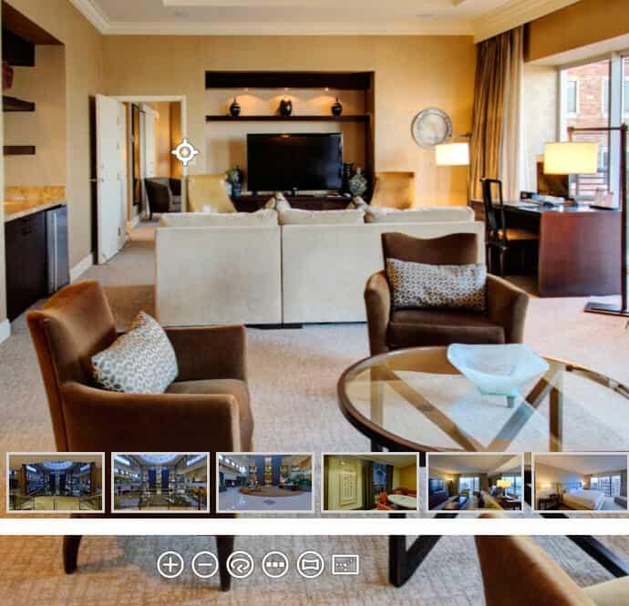 Hyatt Regency Bellevue Virtual tour